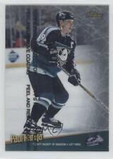 1998 Topps Finest #100 Paul Kariya Anaheim Ducks (Mighty of Anaheim) Hockey Card