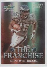 2008 Score Select The Franchise Artist's Proof #F-14 Brian Westbrook Card