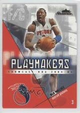 2004 Fleer Showcase Playmakers #7PM Ben Wallace Detroit Pistons Basketball Card