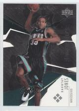 2003-04 Upper Deck Black Diamond 196 Dahntay Jones Memphis Grizzlies Rookie Card