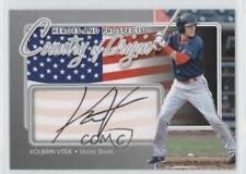 2011 In the Game Heroes and Prospects #COO-KV Kolbrin Vitek Salem Red Sox Auto