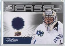 2010-11 Upper Deck UD Game Jersey #GJ-RL Roberto Luongo Vancouver Canucks Card