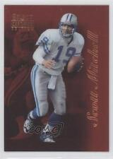 1996 Select Certified Edition Promo Red #14 Scott Mitchell Detroit Lions Card