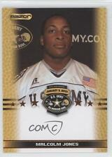 2010 Razor US Army All-American Bowl Promos #MAJO Malcolm Jones U.S. Rookie Card
