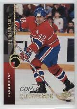 1994-95 Upper Deck Electric Ice #341 JJ Daigneault Montreal Canadiens J.J. Card