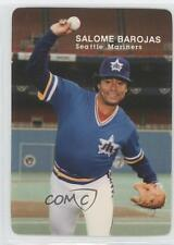 1985 Mother's Cookies Seattle Mariners Stadium Giveaway Base #19 Salome Barojas