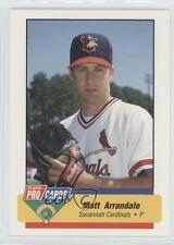 1994 Fleer ProCards South Atlantic League All-Star Game #SAL-46 Matt Arrandale