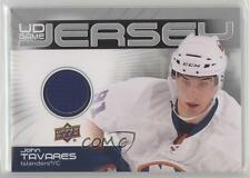 2010-11 Upper Deck UD Game Jersey #GJ2-JT John Tavares New York Islanders Card