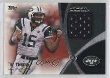 2012 Topps Prolific Playmakers Relics #PPR-TT Tim Tebow New York Jets Card