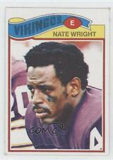 1977 Topps Mexican #11 Nate Wright Minnesota Vikings Football Card