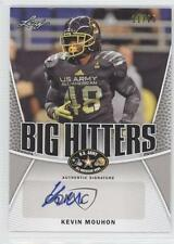 2014 Leaf US Army All-American Bowl Big Hitters Silver #BH-KM1 Kevin Mouhon Auto