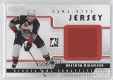 2008-09 In the Game Heroes and Prospects #GUJ-32 Brendan Mikkelson Hockey Card