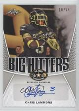 2014 Leaf US Army All-American Bowl Big Hitters Silver BH-CL1 Chris Lammons Auto