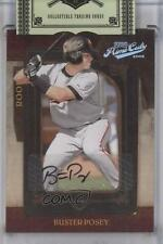 2008 Playoff Prime Cuts 108 Buster Posey San Francisco Giants Auto Baseball Card