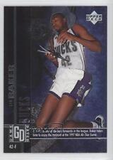 1997-98 Upper Deck Game Dated #69 Vin Baker Milwaukee Bucks Basketball Card