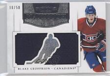 2011-12 Panini Dominion Mammoth Jerseys Die-Cut #22 Blake Geoffrion Hockey Card