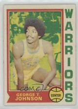 1974-75 Topps #159 George Johnson Golden State Warriors Basketball Card