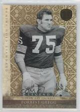 2011 Panini Gold Standard #120 Forrest Gregg Green Bay Packers Football Card