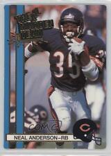 1990 Action Packed The All-Madden Team #16 Neal Anderson Chicago Bears Card