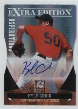 2011 Donruss Elite Extra Edition #P-50 Kyle Crick San Francisco Giants Auto Card