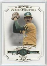 2012 Topps Museum Collection Green #48 Rollie Fingers Oakland Athletics Card