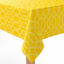 BRAND NEW SONOMA INDOOR / OUTDOOR ALL WEATHER TABLECLOTHS CHEVRON/TRELLIS/FLORAL