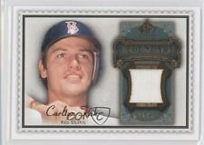 2009 SP Legendary Cuts Memorabilia Olive Green LM-CF Carlton Fisk Boston Red Sox