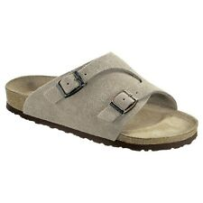 Birkenstock Zürich Sandals - Color Taupe - Leather