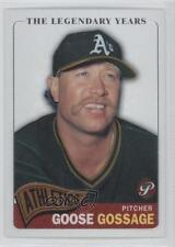 2005 Topps Pristine Legends #17 Rich Gossage Oakland Athletics Baseball Card