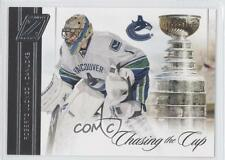 2010-11 Zenith Chasing the Cup #1 Roberto Luongo Vancouver Canucks Hockey Card