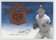 2005 Upper Deck Hall of Fame Class Cooperstown #CC-WF1 Whitey Ford Baseball Card