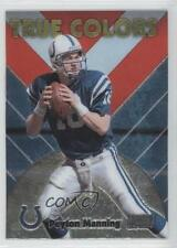 1999 Stadium Club Chrome True Colors #SCCE16 Peyton Manning Indianapolis Colts