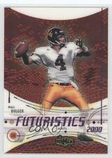 2000 UD Ionix #82 Marc Bulger New Orleans Saints West Virginia Mountaineers Card