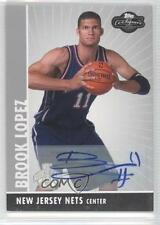 2008-09 Topps Co-Signers Rookie Autographs #110 Brook Lopez New Jersey Nets Auto