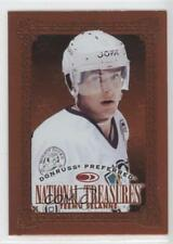 1997 Donruss Preferred #178 Teemu Selanne Anaheim Ducks (Mighty of Anaheim) Card