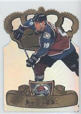 1997 Pacific Crown Collection Gold-Crown Die-Cuts 9 Joe Sakic Colorado Avalanche