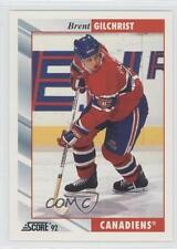 1992-93 Score #46 Brent Gilchrist Montreal Canadiens Hockey Card