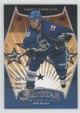 2002 In the Game Be A Player First Edition 23rd National Chicago #391 Rob Blake