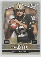 2009 SAGE Hit Gold #12 Curtis Painter Purdue Boilermakers Rookie Football Card