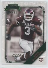 2009 Press Pass Legends Emerald #47 Mike Goodson Texas A&M Aggies Football Card