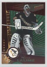 1997-98 Pacific Dynagon Red #103 Patrick Lalime Pittsburgh Penguins Hockey Card