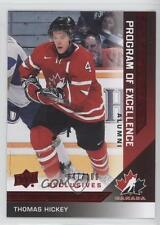 2013-14 Upper Deck Team Canada Exclusives 209 Thomas Hickey (National Team) Card