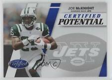 2010 Certified Potential Blue #4 Joe McKnight New York Jets Rookie Football Card