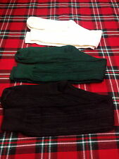 Men's Kilt Hose Sock/Scottish Kilt Hose Sock/Highland Kilt Sock/Black sock/sock