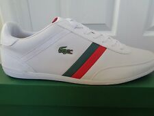 Lacoste Sport Giron PR1 SPM mens  white leather shoes sneakers trainers NEW+BOX