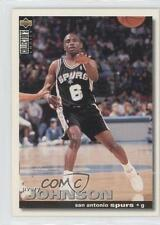 1995-96 Upper Deck Collector's Choice #6 Avery Johnson San Antonio Spurs Card