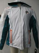 Miami Dolphins Womens S - XL Full Zip Hooded Midweight Reversible Jacket DOL 13