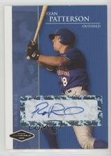 2006 Just Minors Justifiable Autographs Autographed #JF-31 Ryan Patterson Auto