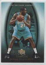 2005-06 Upper Deck Sweet Shot Gold #62 Jamaal Magloire New Orleans Hornets Card