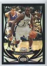 2004 Topps Chrome Black Refractor #212 Romain Sato San Antonio Spurs Rookie Card